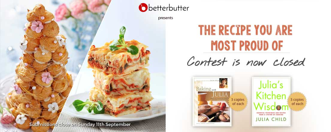 THE RECIPE YOU ARE MOST PROUD OF recipe contest